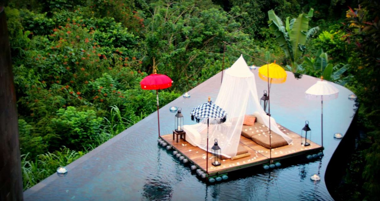 ubud luxury hotels